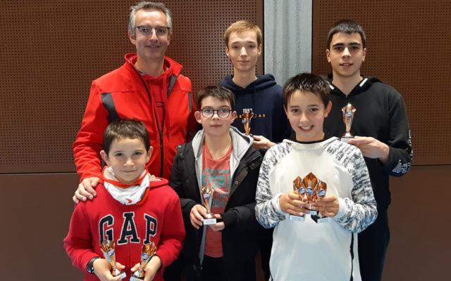 Deux médailles d'argent pour TOM au CIJ à Quimperlé